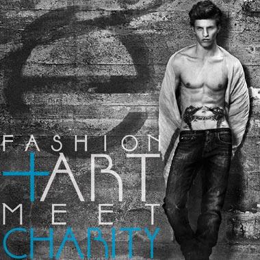 Fashion Art Meet Charity