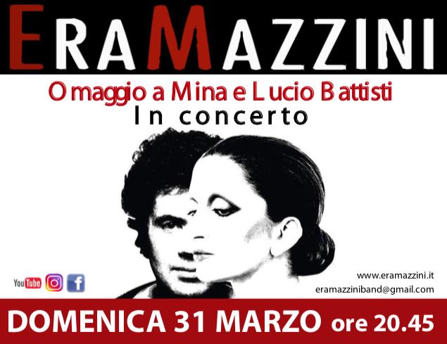 Omaggio a Mina e Lucio Battisti – In concerto